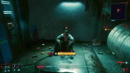 Cyberpunk 2077 - Talk to Ben