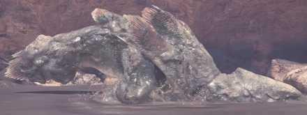 Jyuratodus mud armor