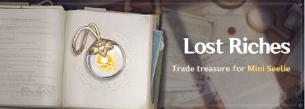 Lost Riches Event Banner