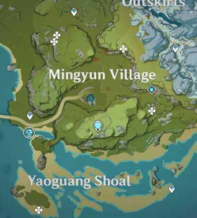 Cor Lapis Qiongji Estuary