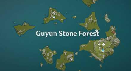 Cor Lapis Guyun Stone Forest