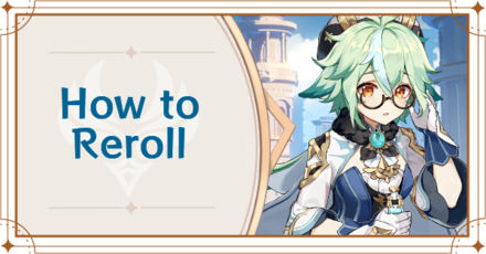Genshin Impact - How to Reroll Banner