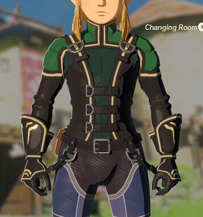 Rubber Armor Green
