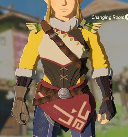 Snowquill Tunic Yellow