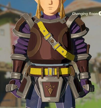 Flamebreaker Armor Purple