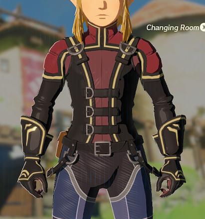 Rubber Armor Crimson