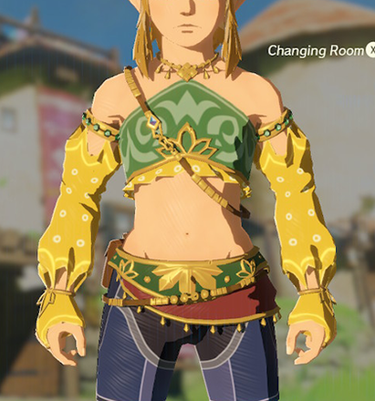 Gerudo Top Yellow