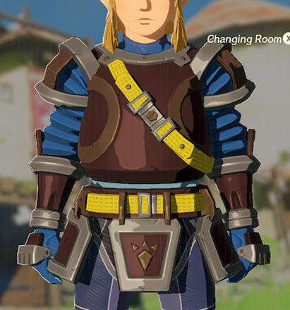 Flamebreaker Armor Blue