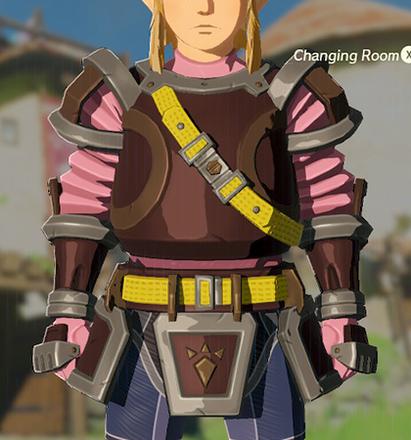 Flamebreaker Armor Peach