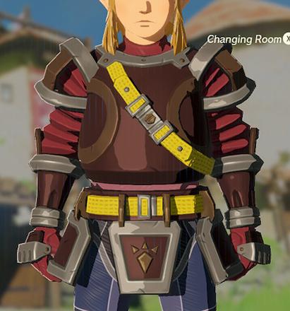Flamebreaker Armor Crimson
