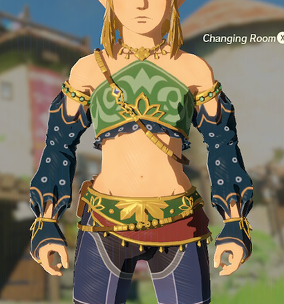 Gerudo Top Navy