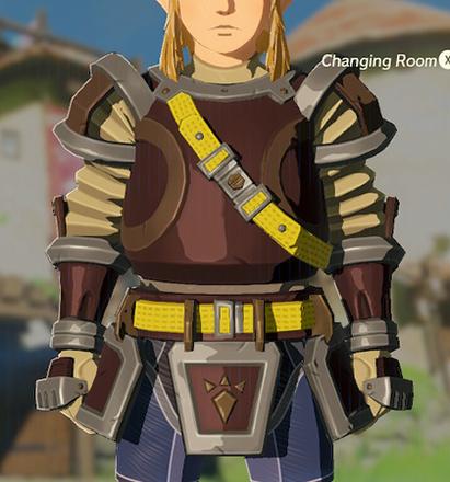 Flamebreaker Armor Light Yellow