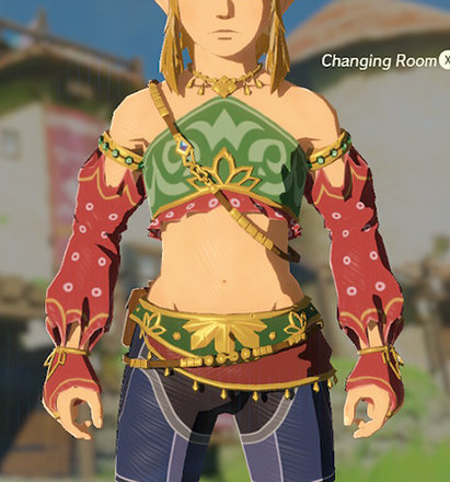 Gerudo Top Red