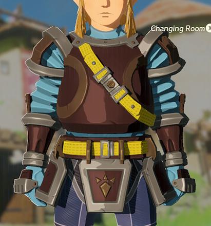 Flamebreaker Armor Light Blue
