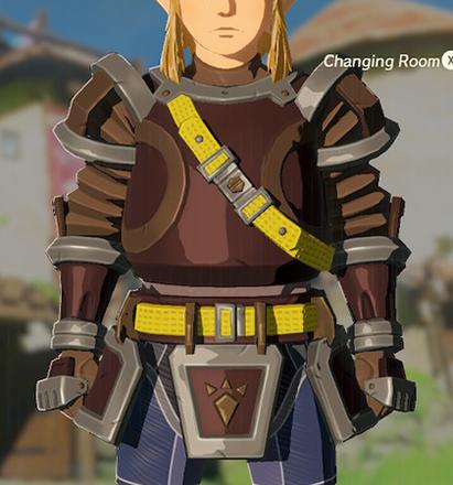 Flamebreaker Armor Brown