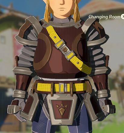 Flamebreaker Armor Gray