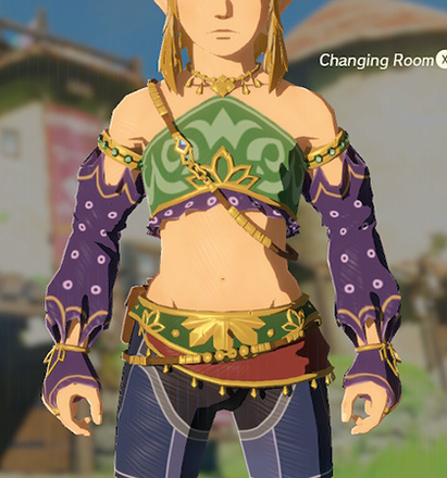 Gerudo Top Purple