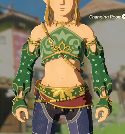 Gerudo Top Green