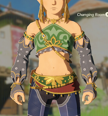 Gerudo Top Gray