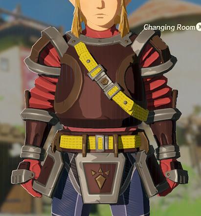 Flamebreaker Armor Red