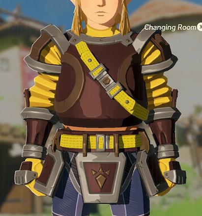 Flamebreaker Armor Yellow