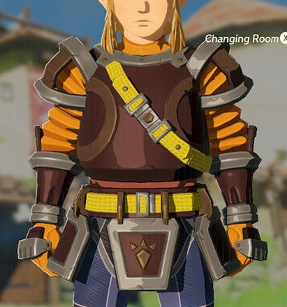Flamebreaker Armor Orange