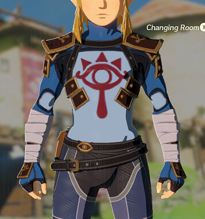 Stealth Chest Guard Blue