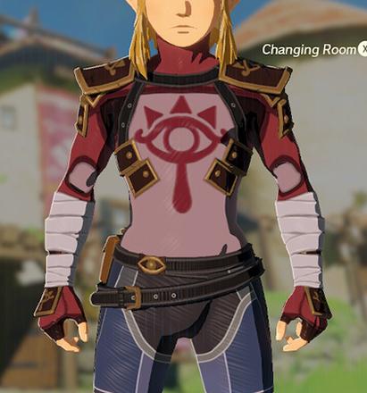 Stealth Chest Guard Crimson