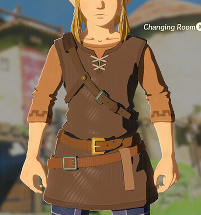 Tunic of the Wild Brown