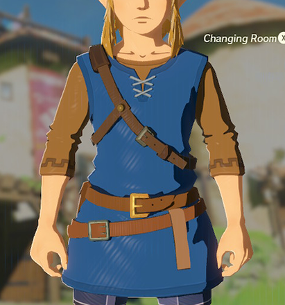 Tunic of the Wild Blue