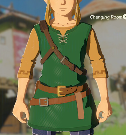 Tunic of the Wild Green