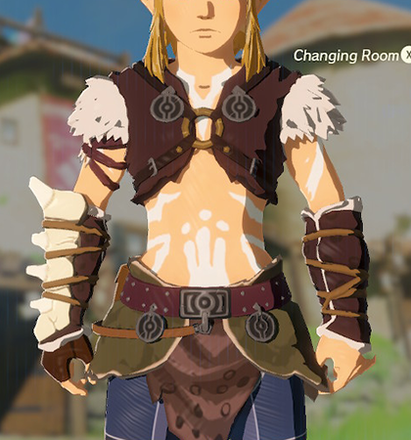 Barbarian Armor White