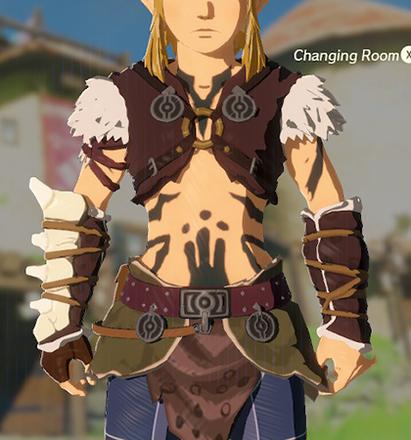 Barbarian Armor Black