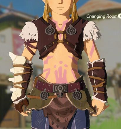 Barbarian Armor Peach