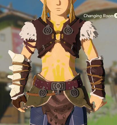 Barbarian Armor Yellow