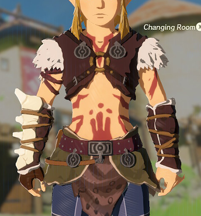 Barbarian Armor Red