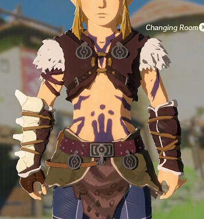 Barbarian Armor Purple