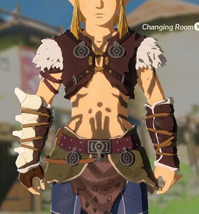 Barbarian Armor Brown