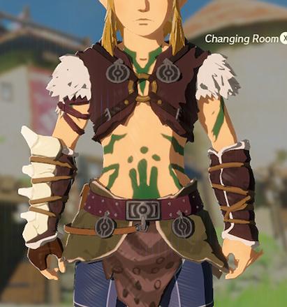 Barbarian Armor Green