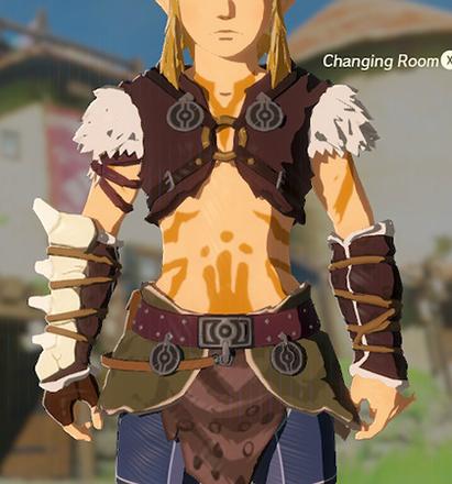 Barbarian Armor Orange