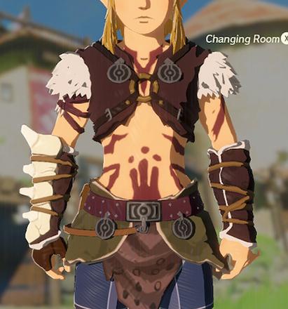 Barbarian Armor Crimson