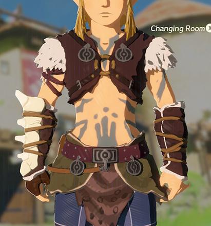Barbarian Armor Gray