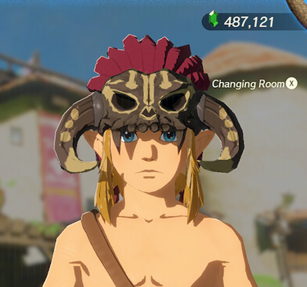 Barbarian Helm Light Yellow