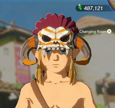Barbarian Helm Orange