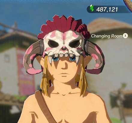 Barbarian Helm Peach
