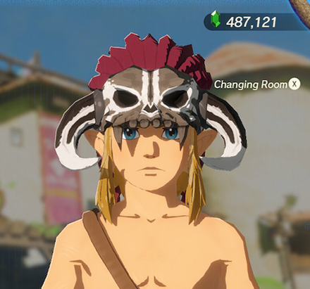 Barbarian Helm White