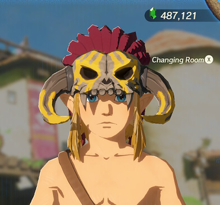 Barbarian Helm Yellow