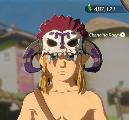 Barbarian Helm Purple