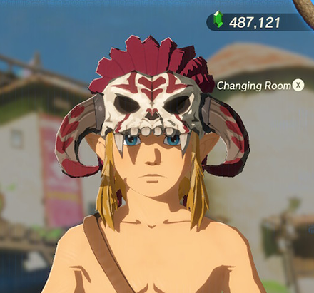 Barbarian Helm Crimson