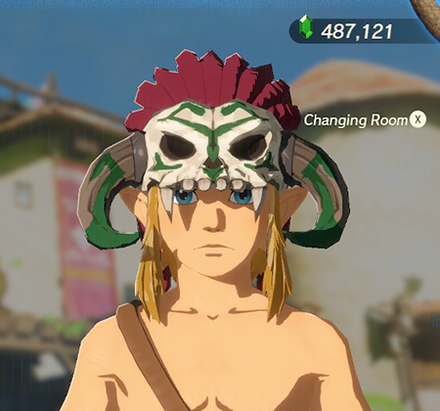 Barbarian Helm Green